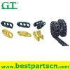 PC200 track chain excavator undercarriage parts assembly excavator track link