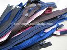 3# nylon zipper open-end autolock zipper for wholesale
