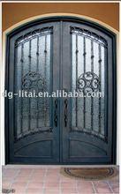 exterior double metal entry doors