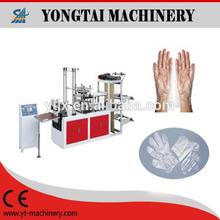 STJ-A machine de confection de gant en plastique