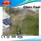 DC solar submersible water pump