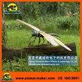 Zona de juegos amusemet Animatronic animales la vida del tamaño de la libélula