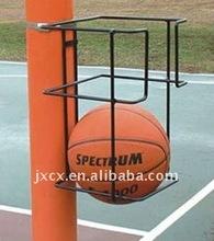 S6249 pole mount basketball holder -2 ball storage rack