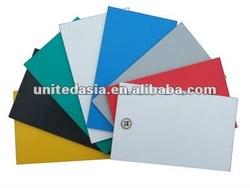 Yellow Rigid PVC Sheet(0.3mm-60mm)