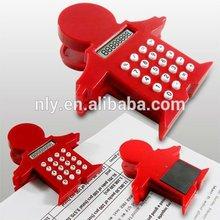 hot sale man shape mini calculator with 8 digit display
