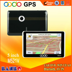 2013 high resolution car DVR GPS navigation with 2.0MP camera
