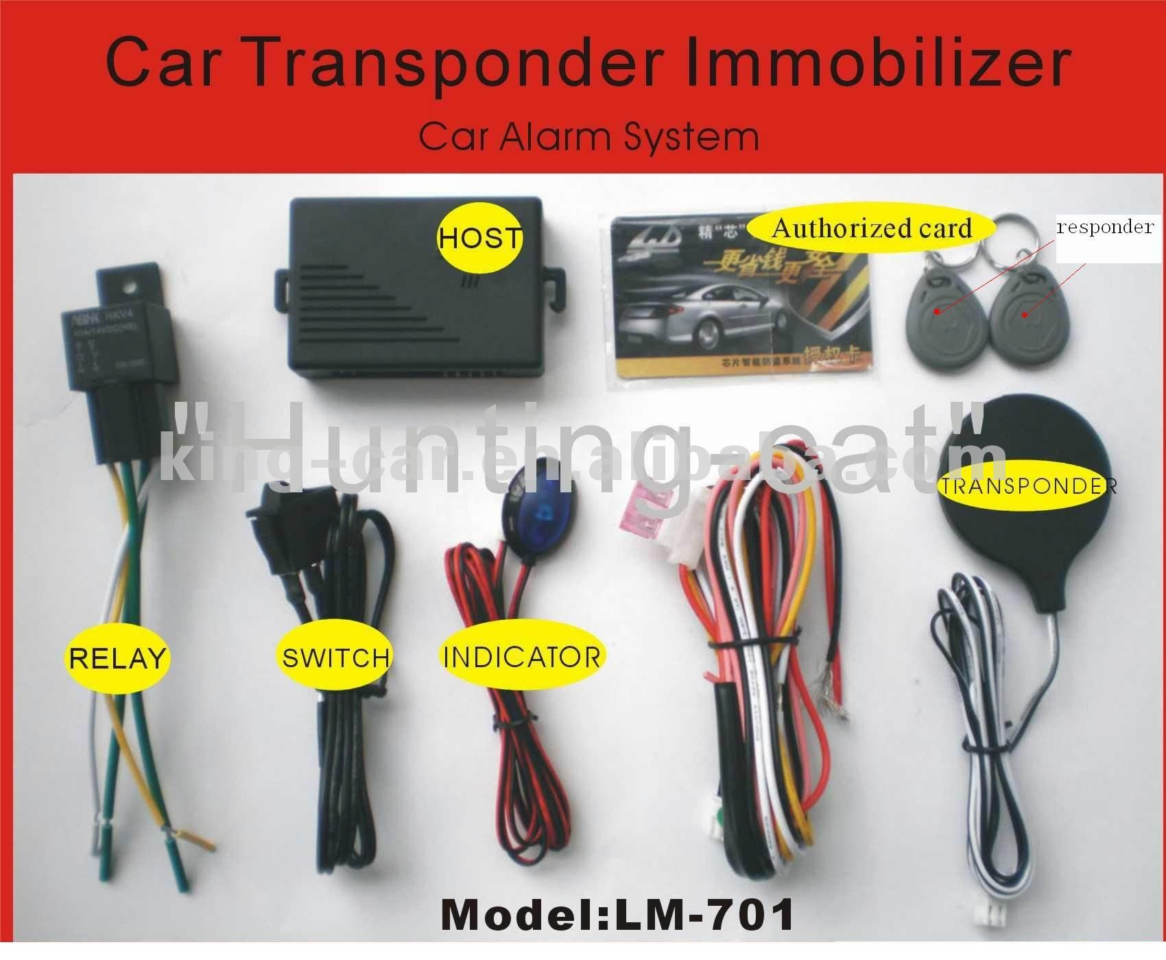 Иммобилайзер для авто своими руками