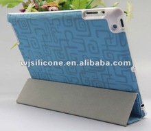 Laptop case with smart cover For New Ipad