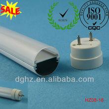 T8 fluorescent light fixture lens covers