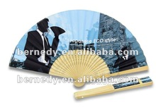 Hot sale environmental protection material factory craft and gift hand fan BBF-313