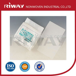 Cleanroom lint free polyester wipes