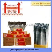 On sale golden bridge quality e7018 e6013 300-450mm length best arc electrode welding rod