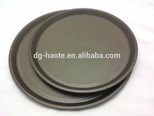 "14"" /16"" Round Plastic Anti-slip Serving Food Tray XM-099A"
