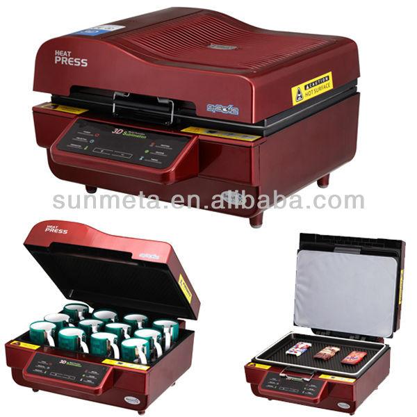 cheap price A3 3d sublimation printer machine ,mug heat press ,machine tor sublimation mugs
