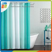 Custom Hookless Polyester Shower Curtain