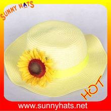 Fashion Kids straw hats/children hat wholesale/manufacturing