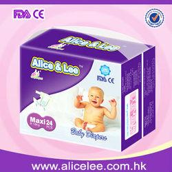 Super dry high quality sleepy baby diaper