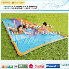 plastic pvc kids inflatable water slide