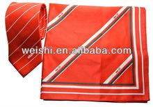Good quality custom square pure silk scarf