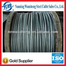 Hot Dip Galvanized Steel Wire Strand 1*7,1*19