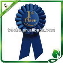 bule Award Ribbon rosette for 1st