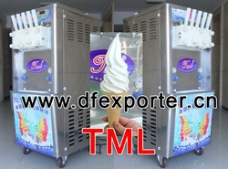 ice cream machine fruit 3 color tml350-281,ice cream machinery manufacturer