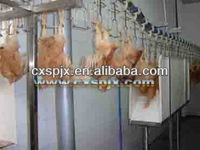 poultry slaughtering processing line/ chicken plucking machine