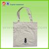 Natural White Plain Cotton Canvas Tote Bag For Shopping Cotton Handbag