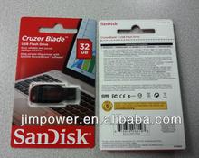 SanDis Cruzer Blade USB Flash Drive