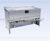 halal chicken slaughter line/ Frying machine