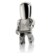 Metal robot usb flash memory 4gb