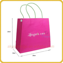 2013 Newest Fashion paper bag backpack craft
