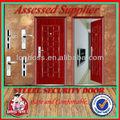 Apartamento lbs-8856 de metal de hierro extrance principal puerta interior puerta de metal