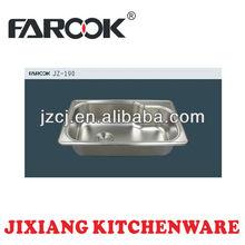vendita calda ciotola in acciaio inox singola lavelli da cucina usato per la vendita