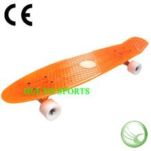 Plastic skateboard, penny plastic skateboard, custom transparent skateboard