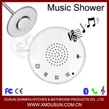 screen touch, waterproof wireless bluetooth stereo speaker telephone led music head shower head