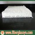 Espesor 3-25mm aguja de fibra de vidrio e esteras/alfombrillas de vidrio para los productos de frp
