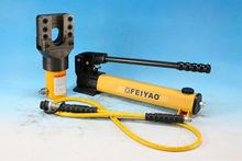Fy-fs-56 stallone dimensioni 19-28mm/standard di cuneo 3-28mm/corsa 38mm idraulico flangia crocette