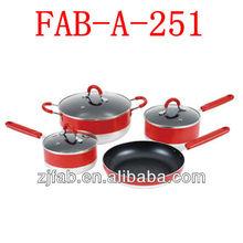 Enamel camping cookware