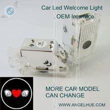 LED car/auto 3w LED welcome light car laser light