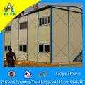 Inclinazione del tetto di case prefabbricate a basso costo per dormitorio( chyt- s3001)