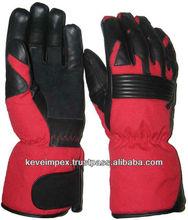 Genuine cow hide analine leather gloves. Motorbike gloves. Racing gloves . Motorcycle gloves. , Gauntlet gloves,