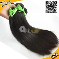 7a grade top quality human 100% virgin brazilian hair straight