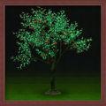 el árbol de navidad decoración de la luz del árbol del led de luz de color naranja del árbol 2013 nuevo producto 2m