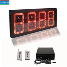 Spanish aliexpress wireless IP65 waterproof open signs with price gas stations with car wash