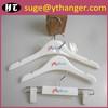 SU04 plastic kids hanger white baby hanger