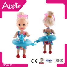 Jieyang Little Lovely Cartoon Angel Figurines Toys Plastic Doll Kelly Doll Mini Real Doll