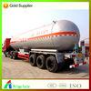 2015 competitive price 50cbm truck lpg gas tank trailer for sale,truck lpg tanker semi trailer /lpg tank semi-trailer semitraile
