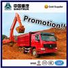 10 wheel heavy duty 6*4 HOWO dump truck with big capacity