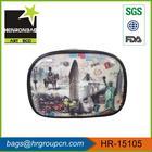 2014 latest design pattern PVC souvenir big clutch bags